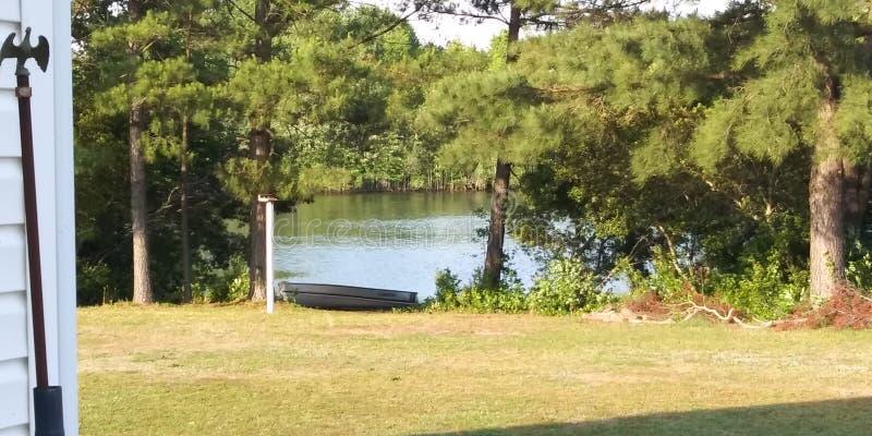 lakeside image stock