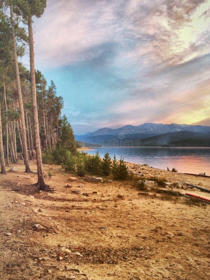 Lakeside sognato immagini stock libere da diritti