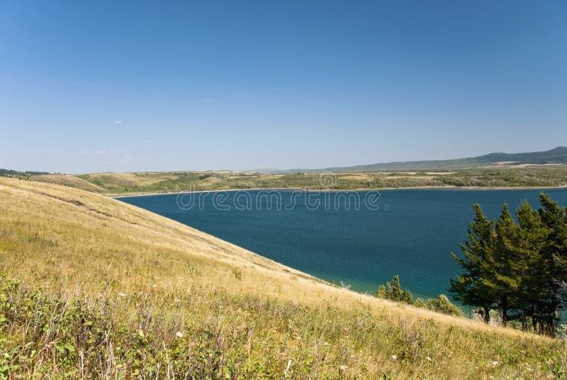 lakesnationalparkwaterton fotografering för bildbyråer