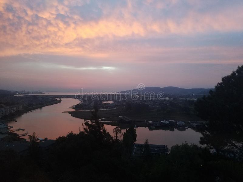 Lakeview immagine stock libera da diritti