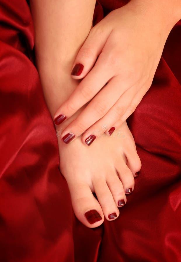 lakier do paznokci zdjęcie royalty free