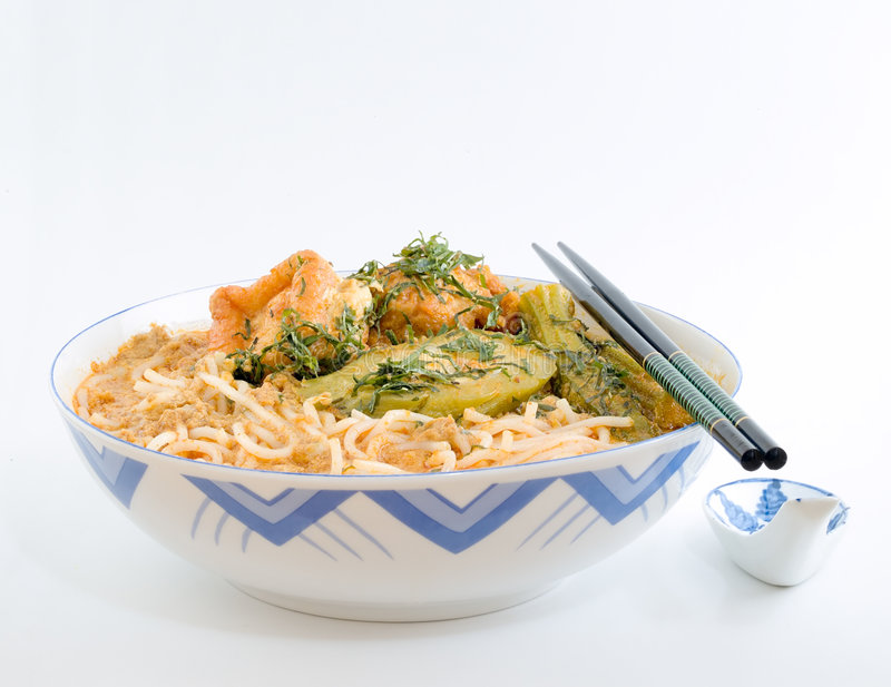 Laksa royalty free stock photo