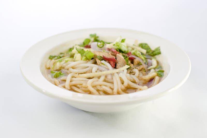 Laksa de Penang Assam, comida de Nyonya del malasio imagenes de archivo