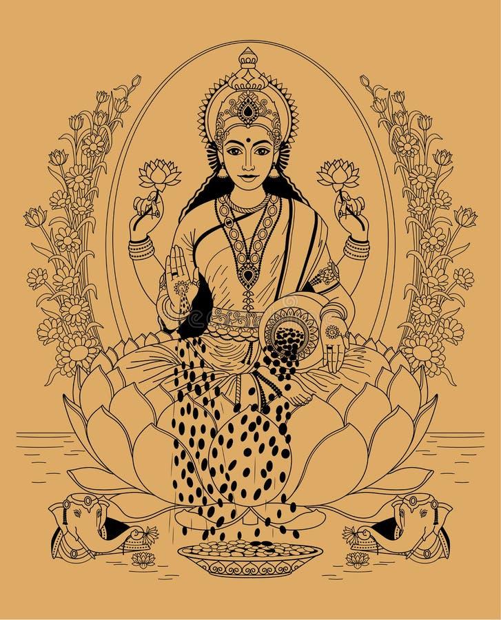lakshmi libre illustration