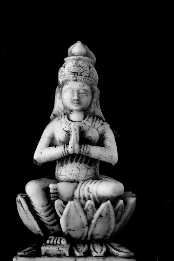 Lakshmi, il datore di ricchezza fotografia stock libera da diritti
