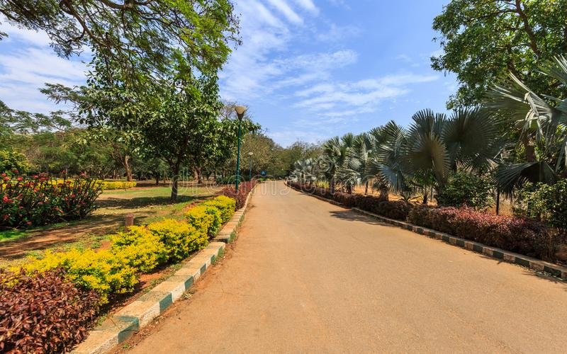 Lal Bagh Botanical Garden - Bangalore/Bengaluru. Beautiful view of Lal Bagh Botanical Garden, one of the tourist attractions in Bangalore, with plenty variety of stock photos