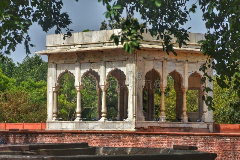 Lal Qila arkivbild