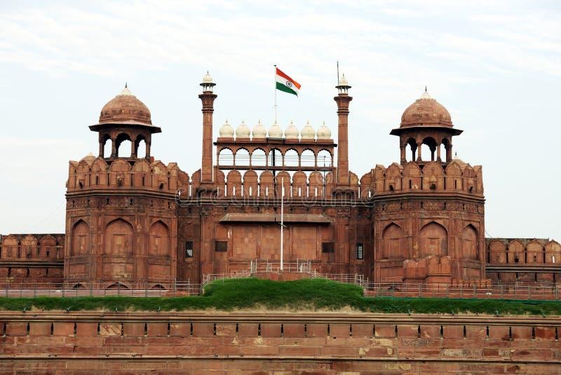 Lal Qila Red Fort in Delhi lizenzfreie stockbilder