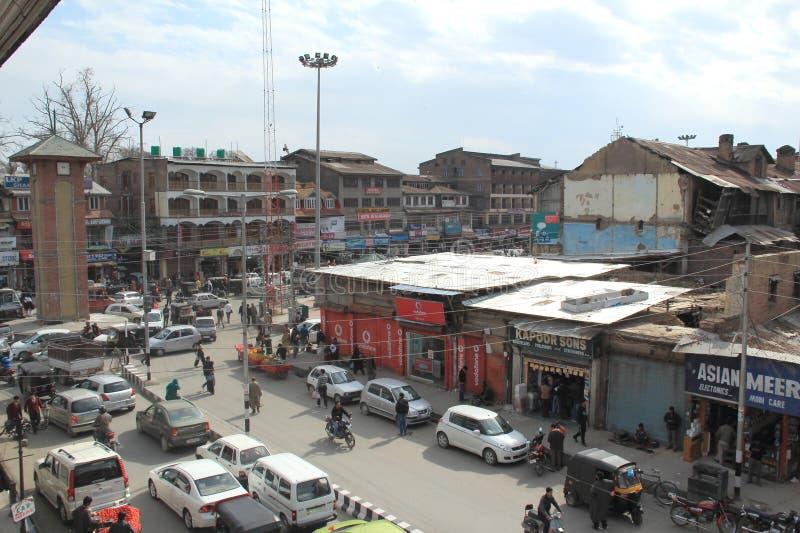 Lala Chowk (Srinagar). fotografia royalty free