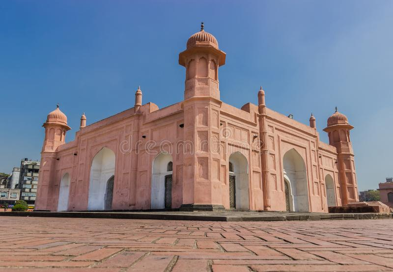 Lalbag-Fort in Dhaka, Bangladesch stockbild