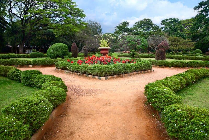 lalbagh ботанического сада bangalore стоковая фотография rf