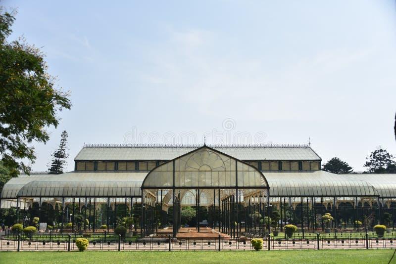 Lalbagh Botanische Tuinen, Bangalore, Karnataka, stock afbeelding
