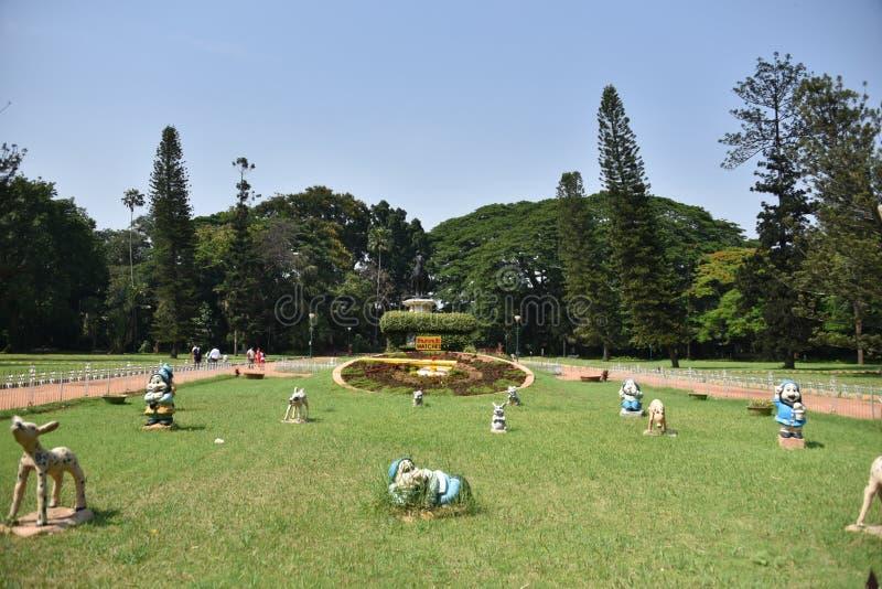 Lalbagh botaniska trädgårdar, Bangalore, Karnataka, fotografering för bildbyråer