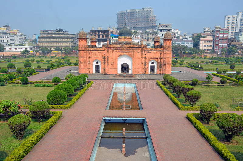 Lalbagh Fort royaltyfri bild