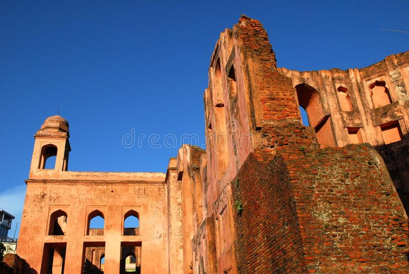 Lalbagh fort av Dhaka arkivfoto