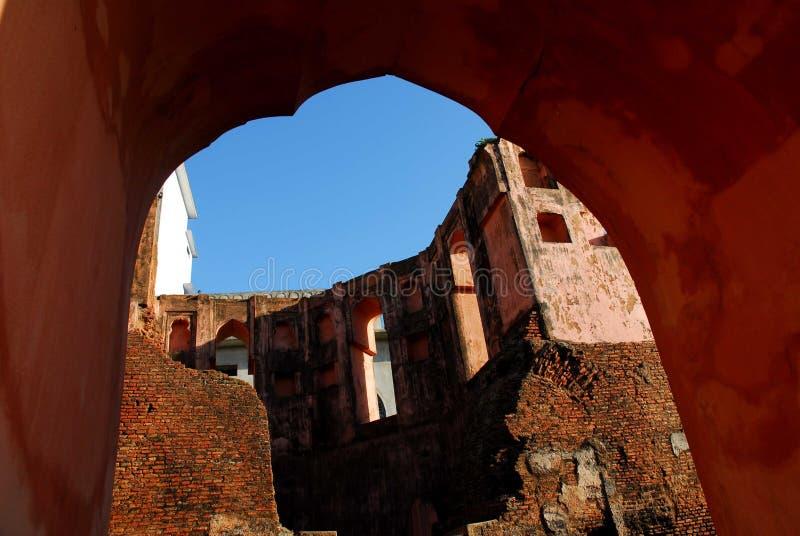 Lalbagh-Fort von Dhaka stockbilder