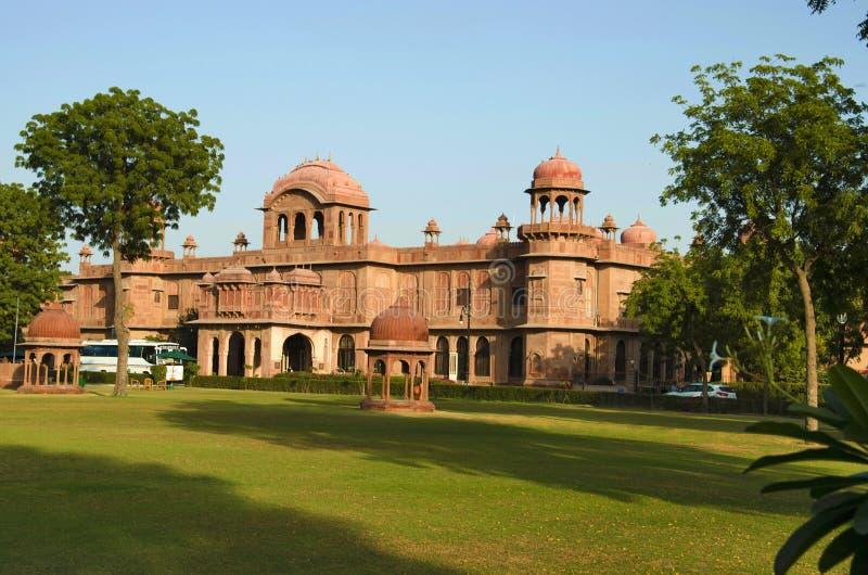 Lalgarh pałac, Bikaner, Rajasthan, India fotografia stock
