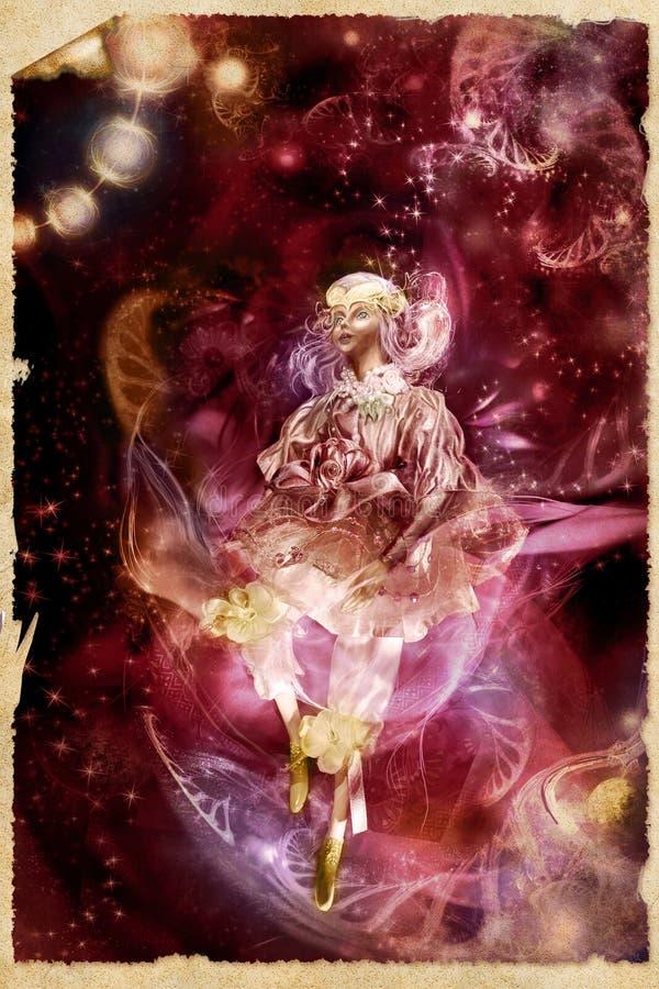 lali magii noc ilustracja wektor
