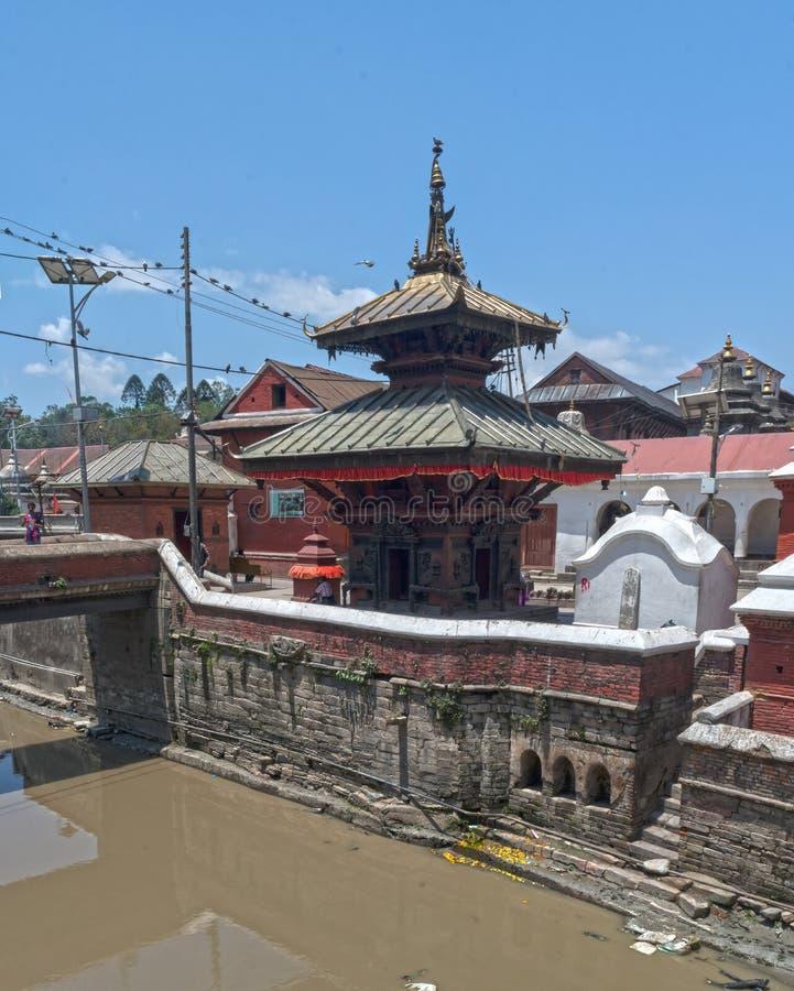 Lalitpur Kathmandu Nepal świątynia fotografia royalty free