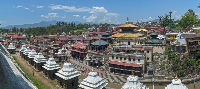 Lalitpur Katmandu Nepal tempel arkivfoto