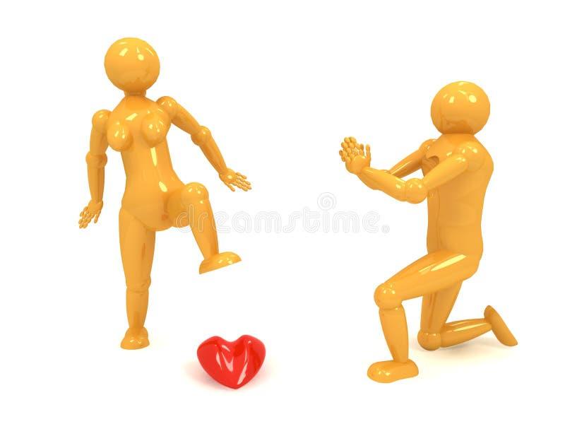 lalka dramatu żółty obrazy royalty free