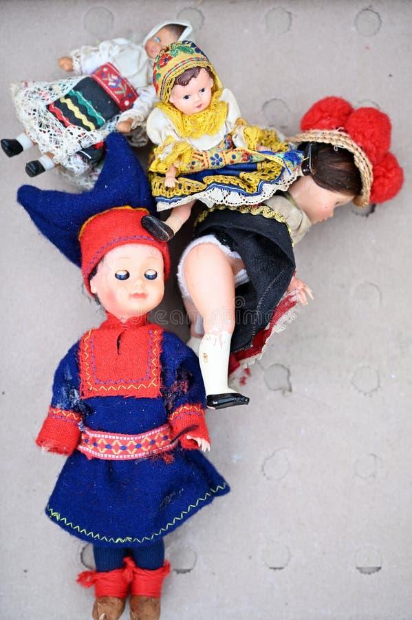 Lalki folklor flea obrazy royalty free