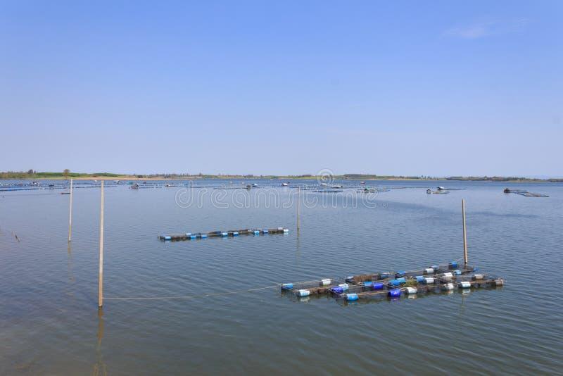Lam Pao Dam, Kalasin Province. Thailand stock image