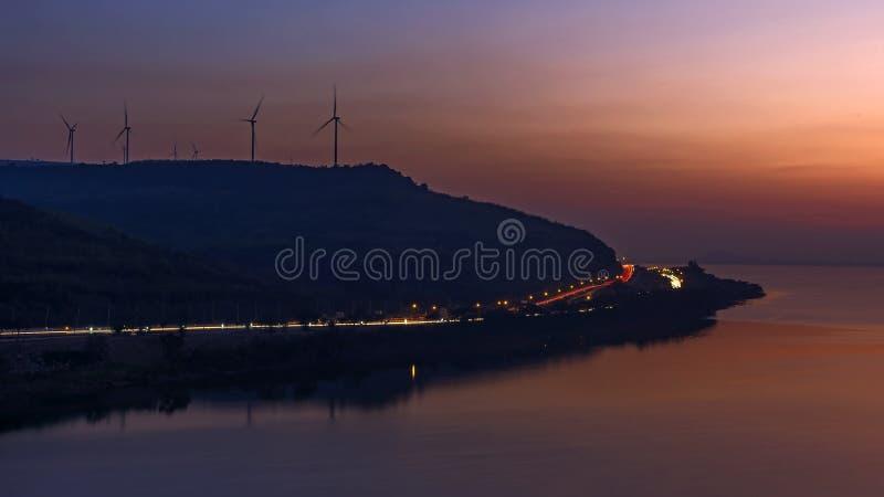 Lam Ta Khong Dam royalty-vrije stock afbeelding