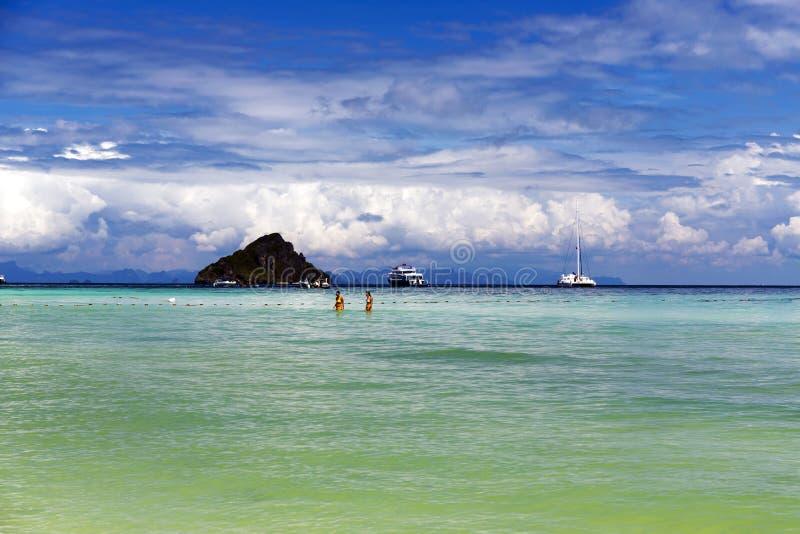 Lam Tong Beach imagenes de archivo