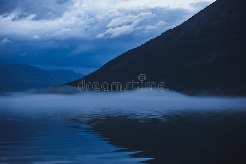 Lama Lake on Putorana Plateau. Russia royalty free stock photo