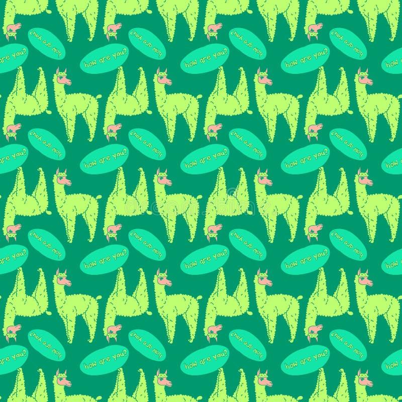 092 lama pattern 01 stock photography