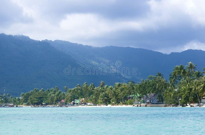 Lamai beach. (Koh Samui, Thailand royalty free stock images