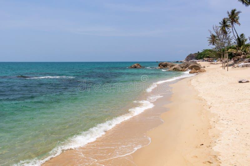 Lamai strandKoh Samui ö Thailand arkivbild