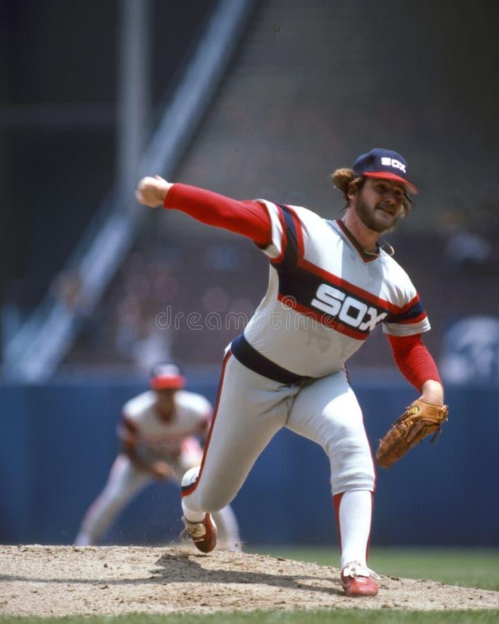 Lamar Hoyt, Chicago Witte Sox stock foto