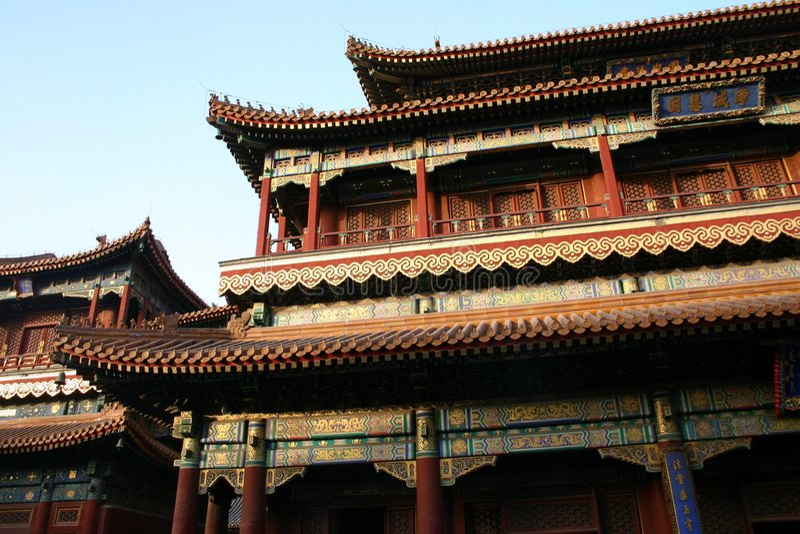 Download Lamasary στοκ εικόνα. εικόνα από αρχιτεκτονικής, κίνα, ανατολικός - 119917
