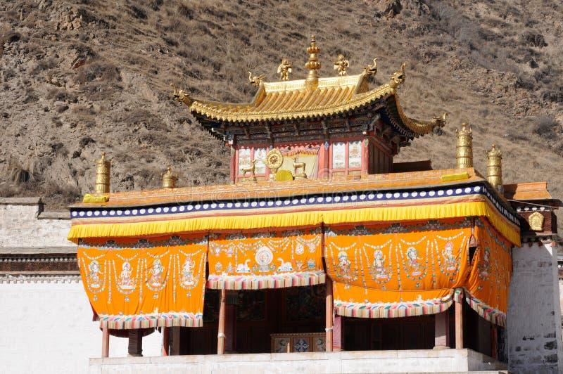 Download Lamasery Тибет стоковое фото. изображение насчитывающей золотисто - 18376484