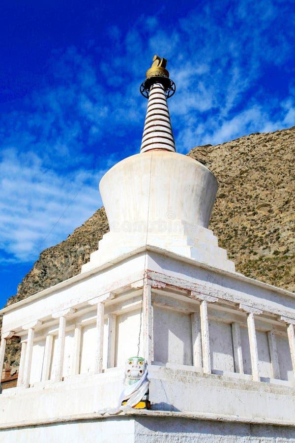 Lamasery Labrang тибетского буддизма в Китае стоковое изображение rf