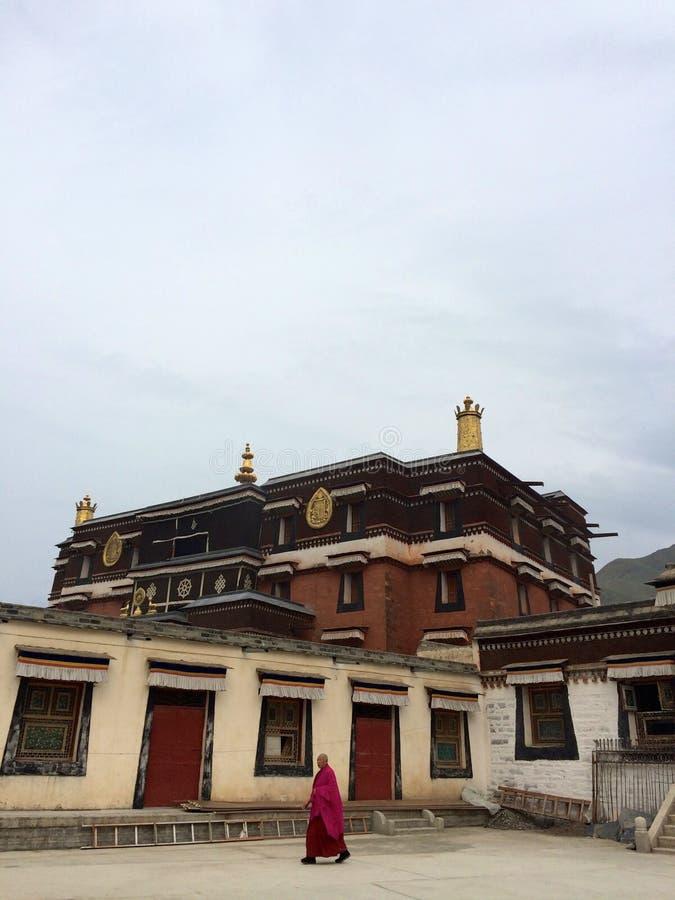 Lamasery Labrang стоковая фотография
