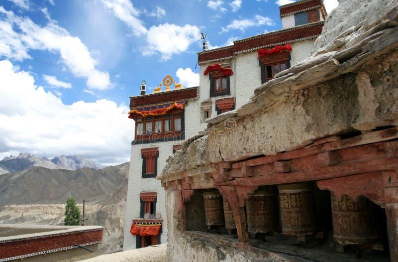 Lamayuru Kloster, Ladakh, Indien lizenzfreies stockfoto