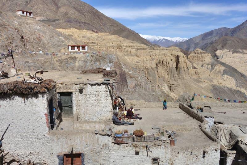 Lamayuru monastery in Ladakh, India. royalty free stock photos
