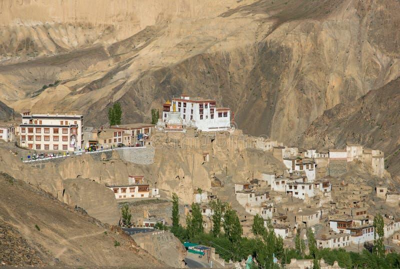 Lamayuru o Yuru Gompa es monasterio budista tibetano en Ladakh imágenes de archivo libres de regalías