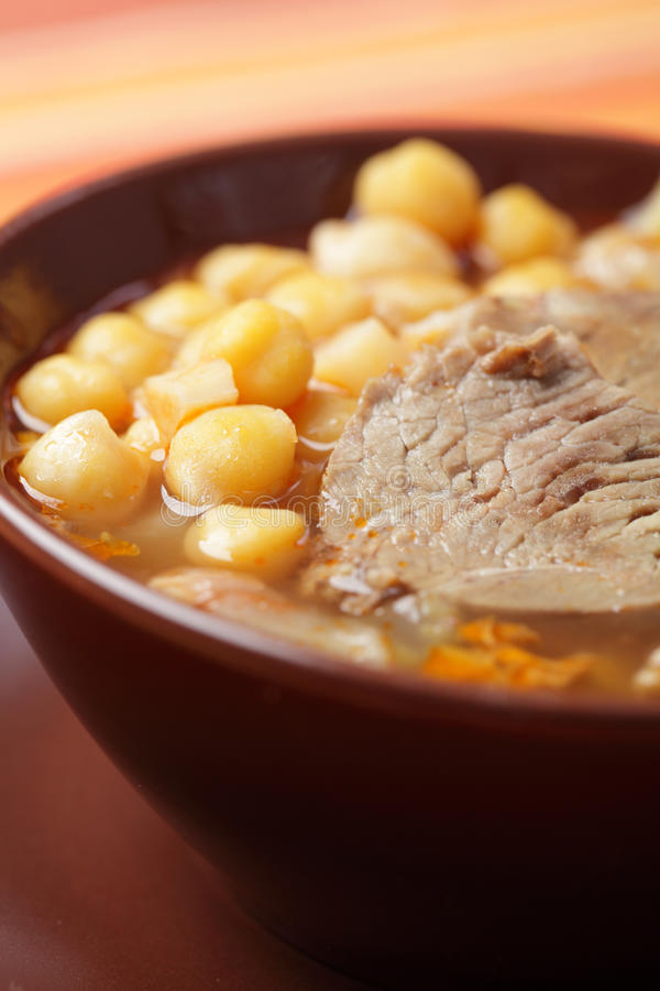 Download Lamb And Chickpea Soup Stock Images - Image: 18858754