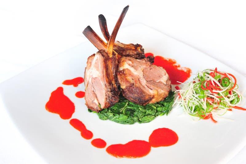 Lamb Chop Royalty Free Stock Photos