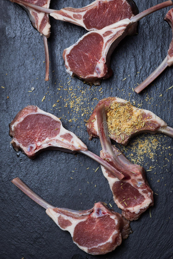 Lamb Chop stock image