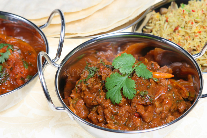 Lamb Curry royalty free stock image