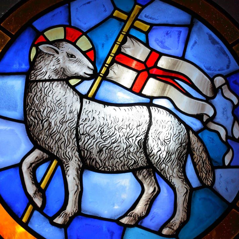 Lamb of God stock photography