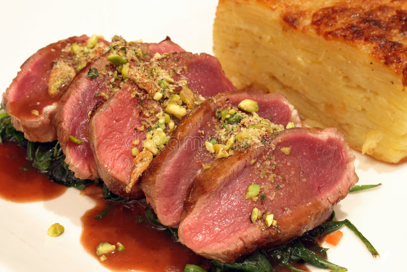 lamb obiad obraz royalty free