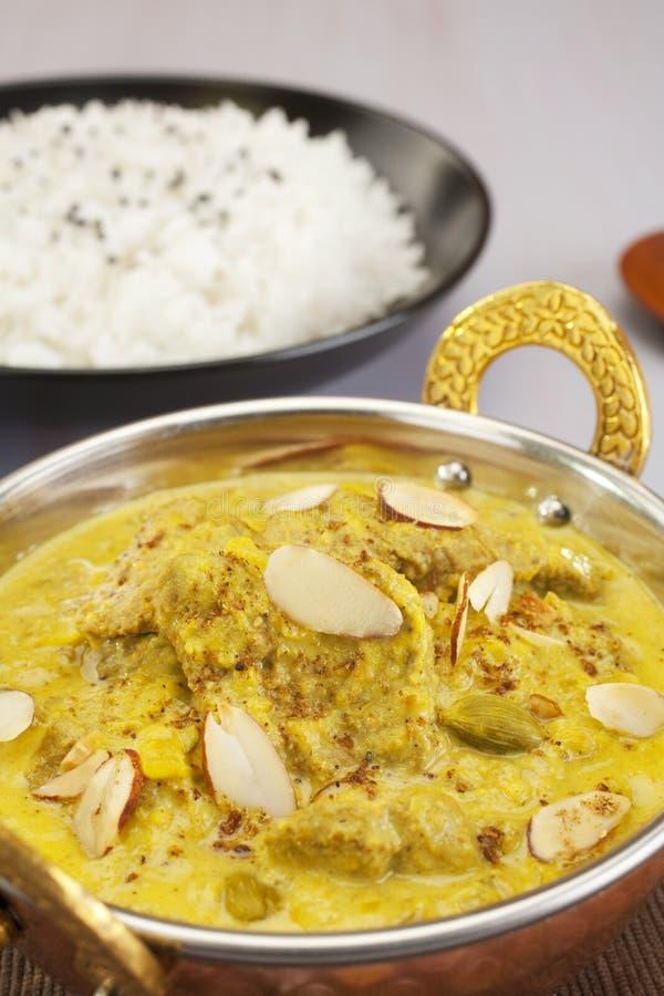 Lamb Pasanda Indian Curry Food Meal Cuisine stock photography