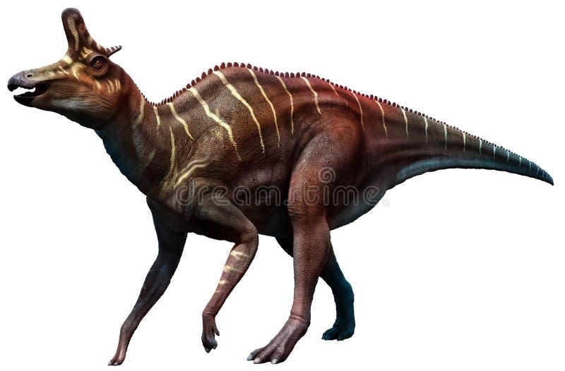 Lambeosaurus ilustração do vetor