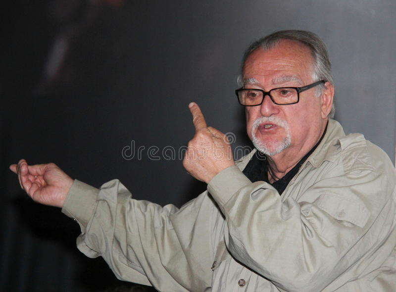 Lamberto Bava film director royalty free stock photo